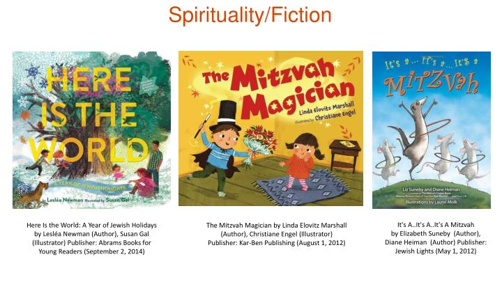 Spirituality/Fiction