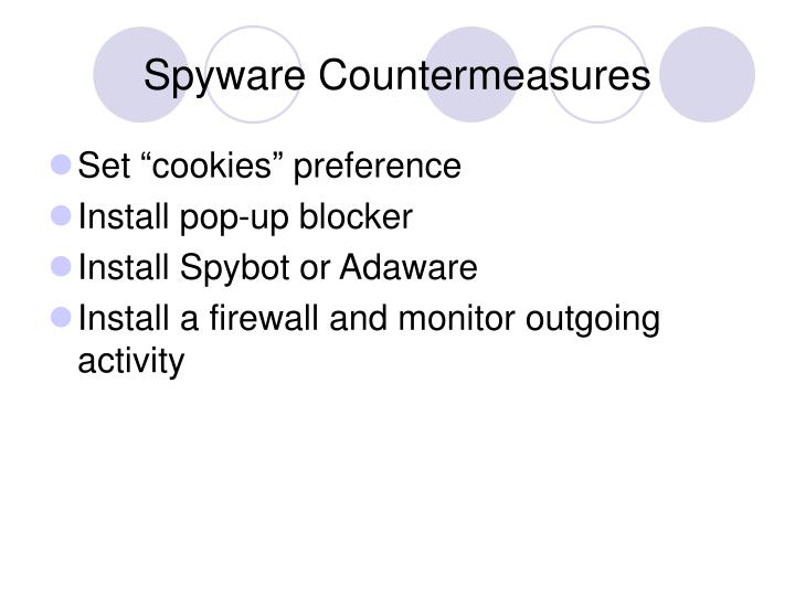 Spyware Countermeasures