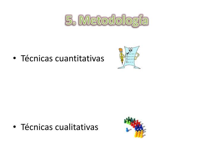5. Metodologa