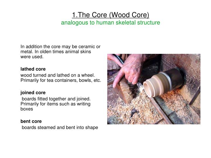 1.The Core (Wood Core)