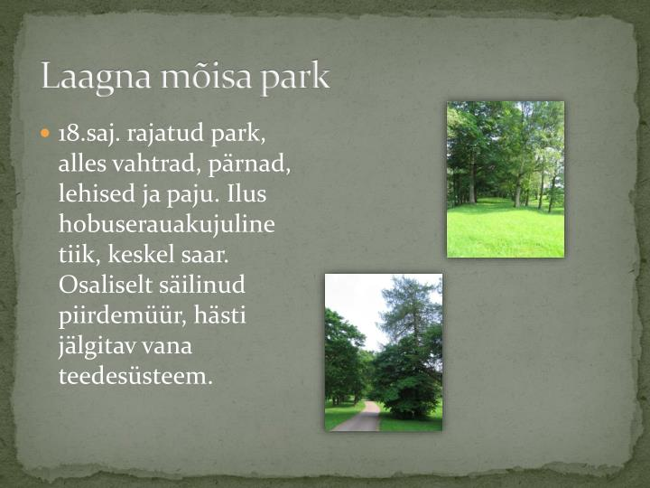 Laagna mõisa park