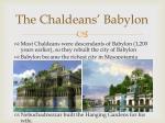 the chaldeans babylon