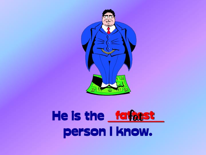 He is the