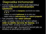 diagnostika trichomon d
