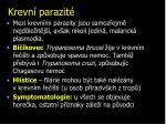 krevn parazit