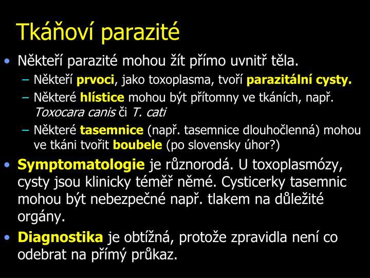 Tkáňoví parazité