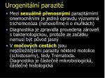 urogenit ln parazit