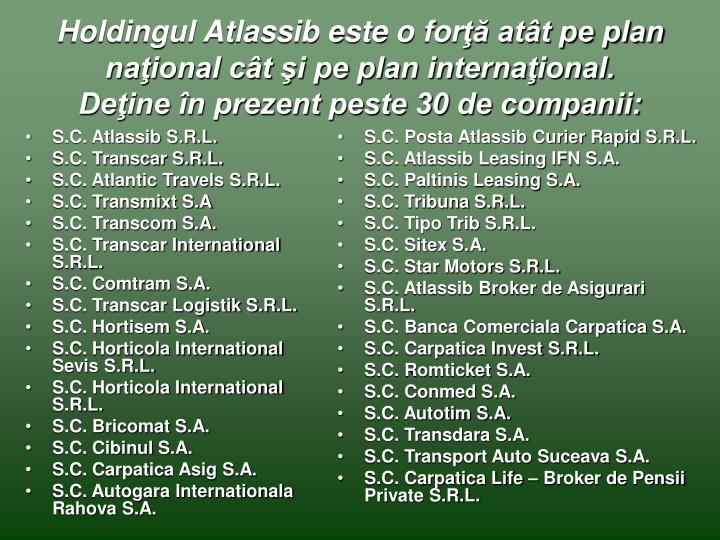 S.C. Atlassib S.R.L.