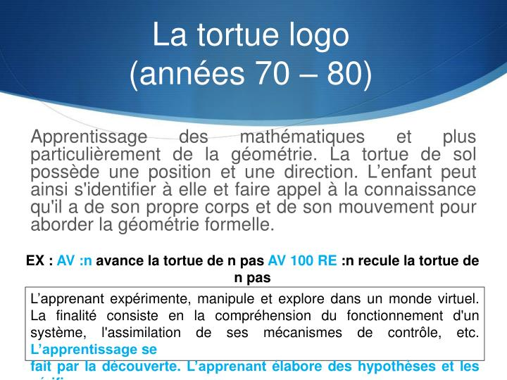 La tortue logo