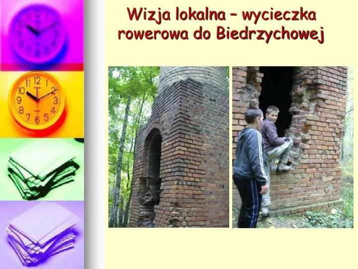 Wizja lokalna – wycieczka rowerowa do Biedrzychowej