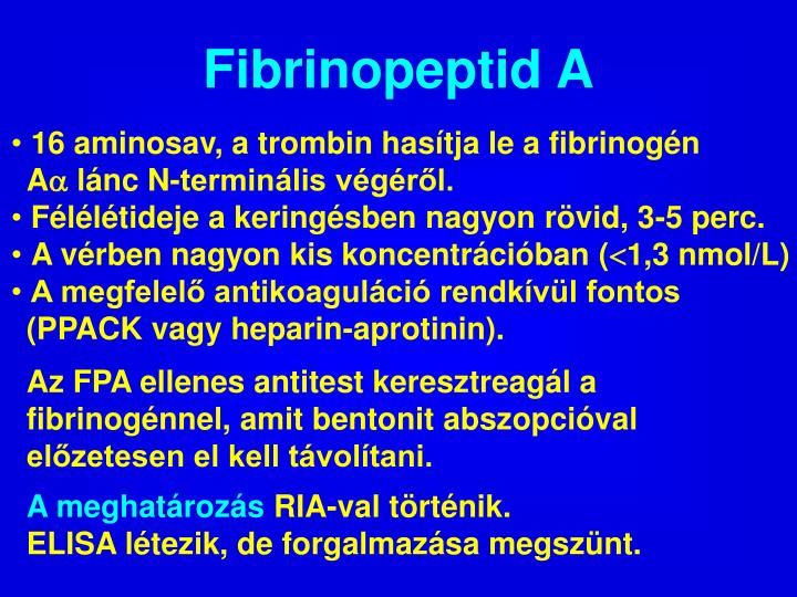 Fibrinopeptid A