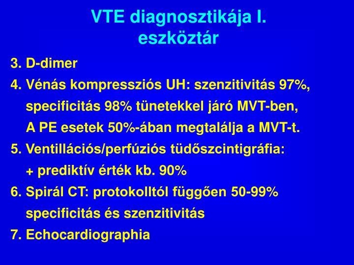 VTE diagnosztikája I.
