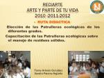 reciarte arte y parte de tu vida 2010 2011 20124