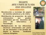 reciarte arte y parte de tu vida 2010 2011 20126