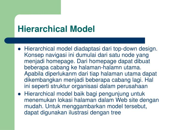 Hierarchical Model