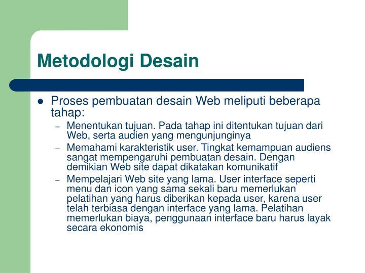 Metodologi Desain