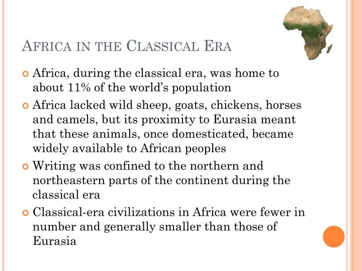 Africa in the Classical Era