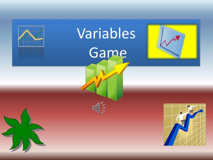 Variables game
