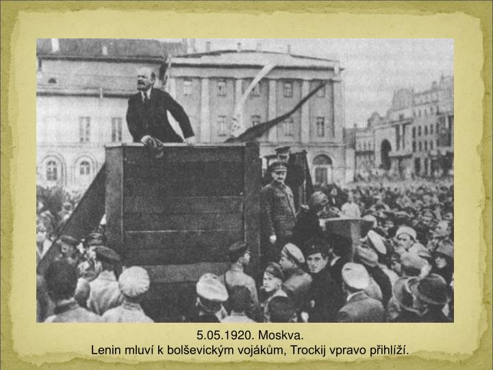 5.05.1920. Moskv