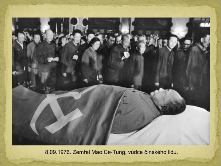 8.09.1976. Zemel Mao