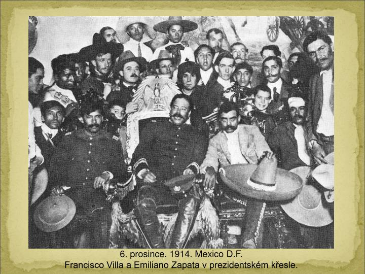 6. prosince. 1914. M