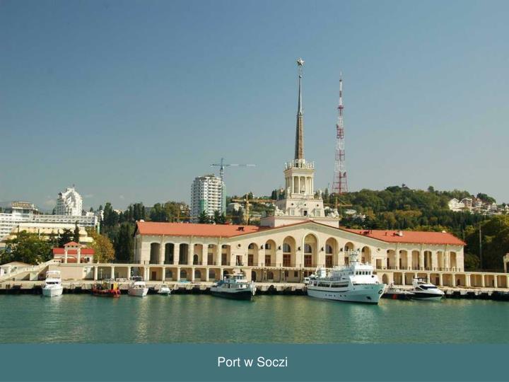 Port w Soczi