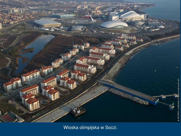 Wioska olimpijska w Soczi.