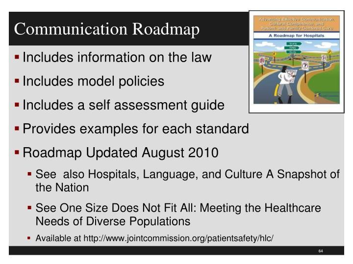 Communication Roadmap