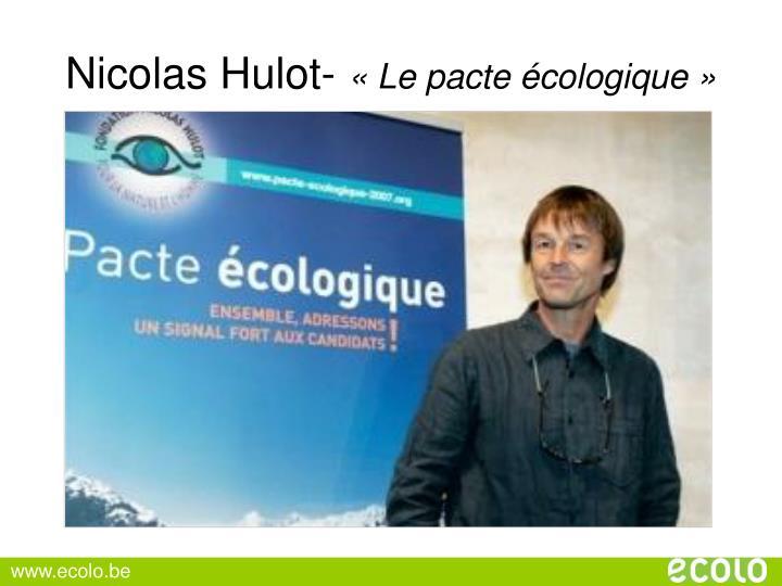 Nicolas Hulot-
