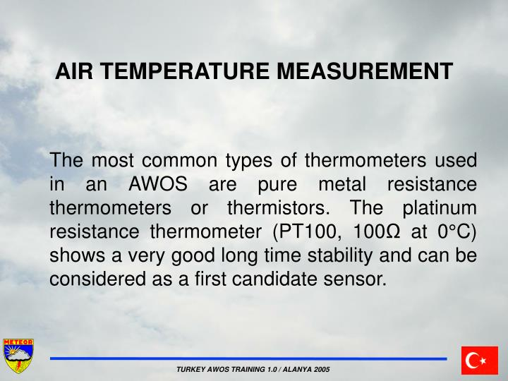 AIR TEMPERATURE MEASUREMENT