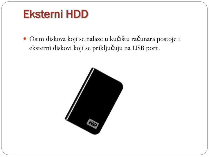 Eksterni HDD