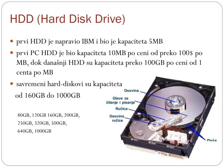 HDD (Hard Disk Drive