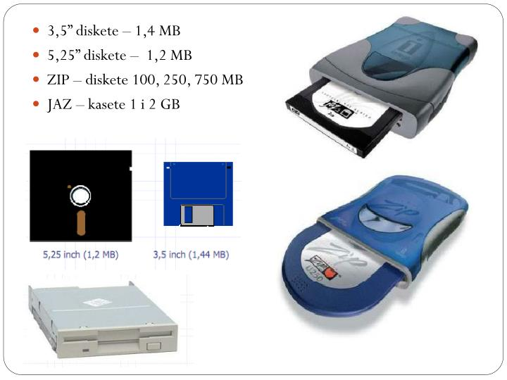 "3,5"" diskete – 1,4 MB"