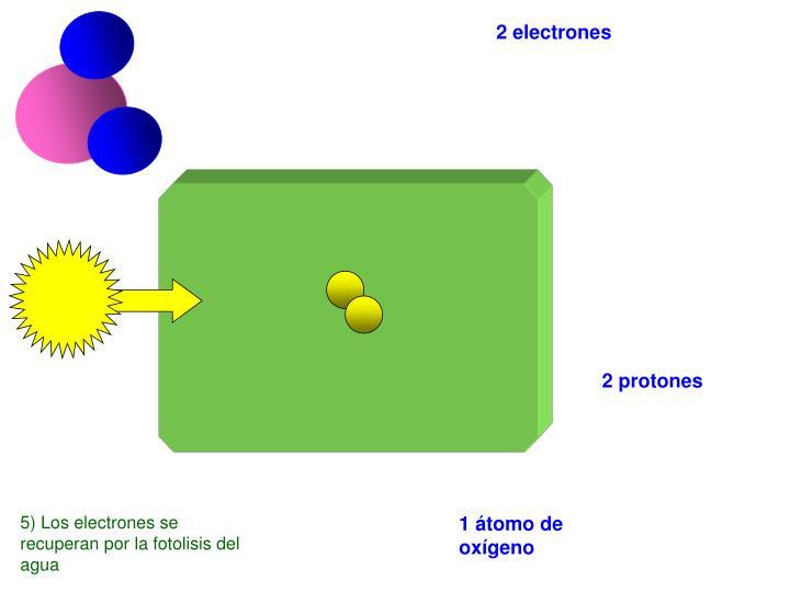 2 electrones