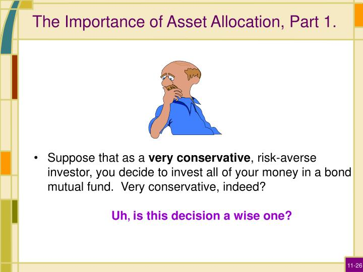 The Importance of Asset Allocation, Part 1.