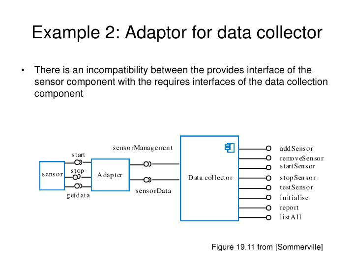 Example 2: Adaptor for data collector