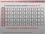 aspetti matematici che determinano il numero delle tessere6