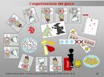 l organizzazione del gioco