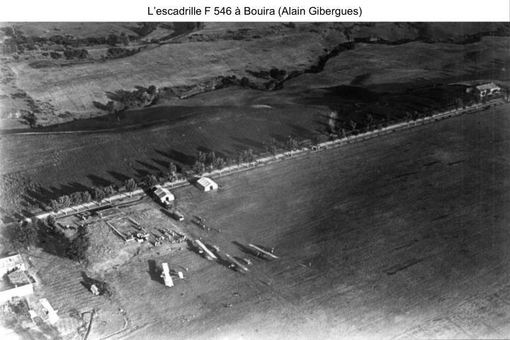 L'escadrille F 546 à Bouira (Alain Gibergues)
