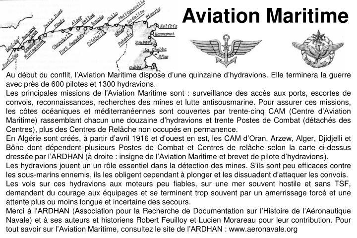 Aviation Maritime