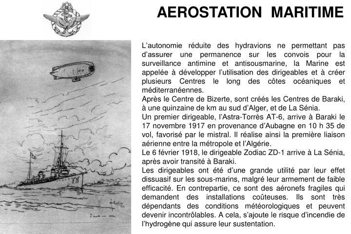 AEROSTATION  MARITIME