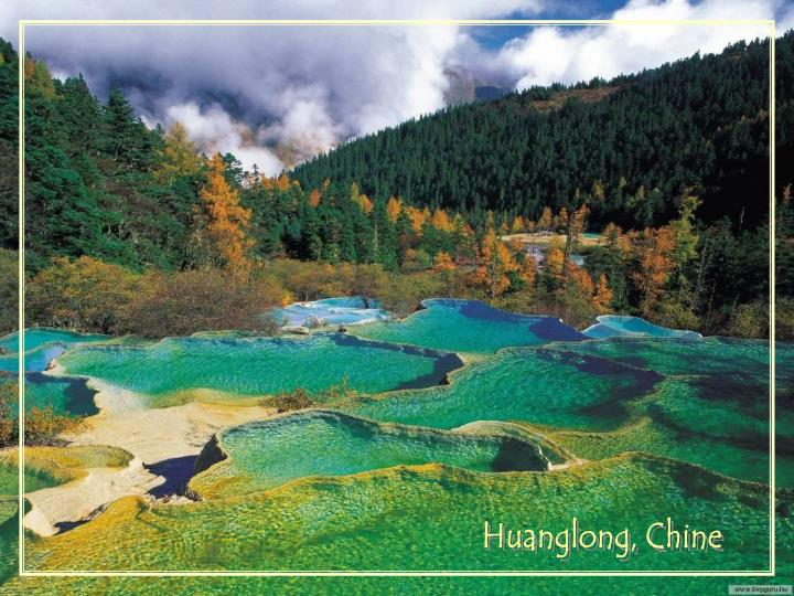Huanglong, Chine