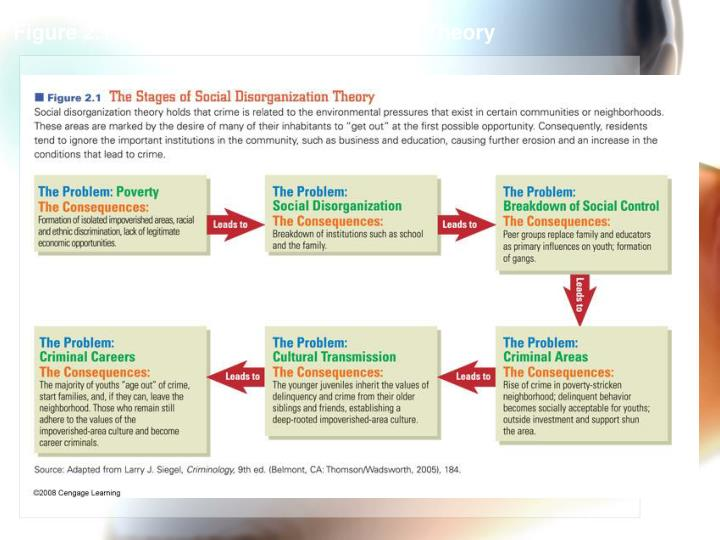 Figure 2.1 The Stages of Disorganization Theory