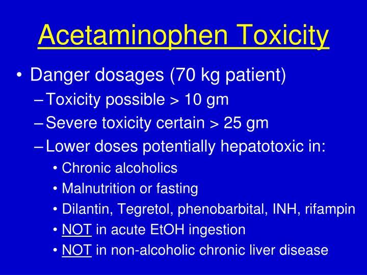 Acetaminophen Toxicity