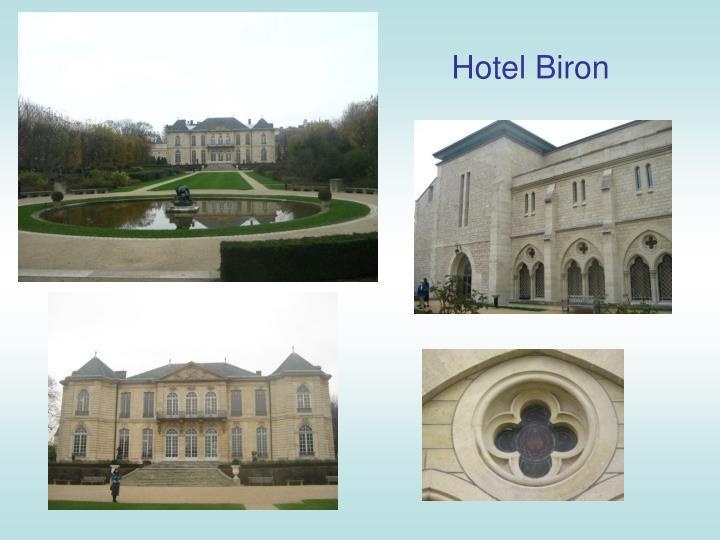 Hotel Biron