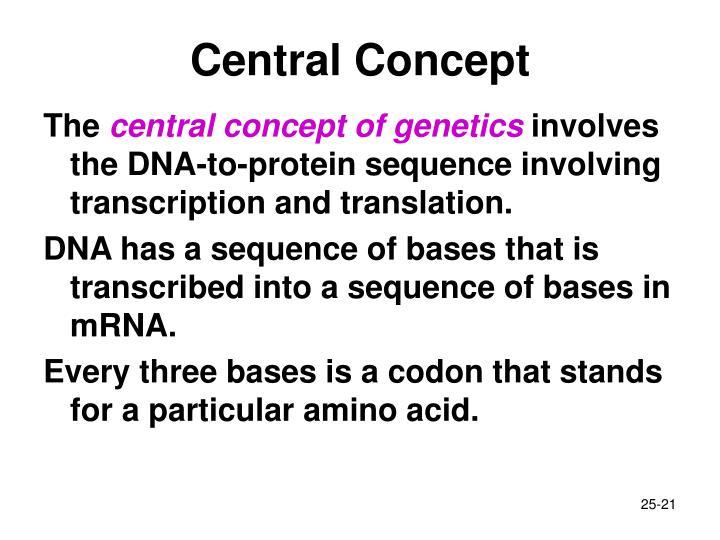Central Concept