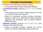 encoders classification