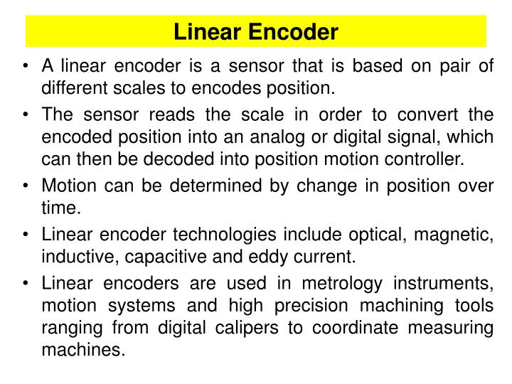 Linear Encoder