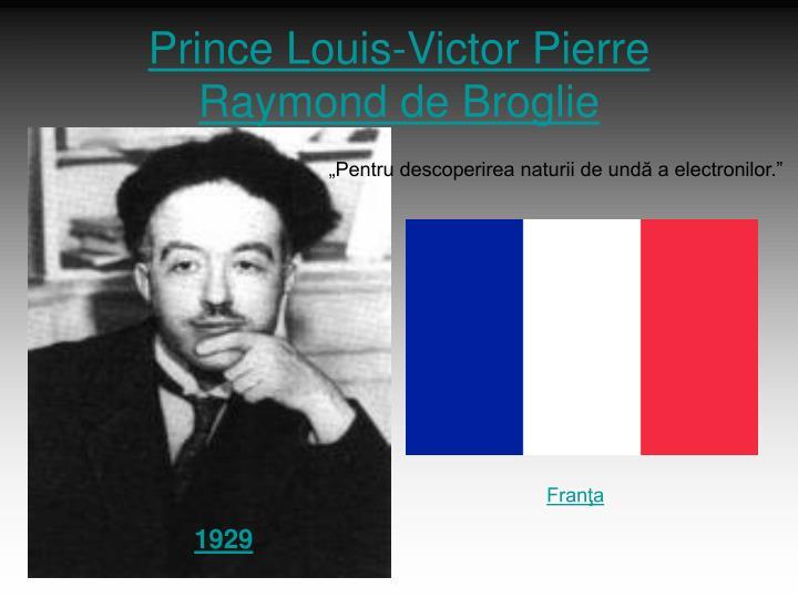 Prince Louis-Victor Pierre