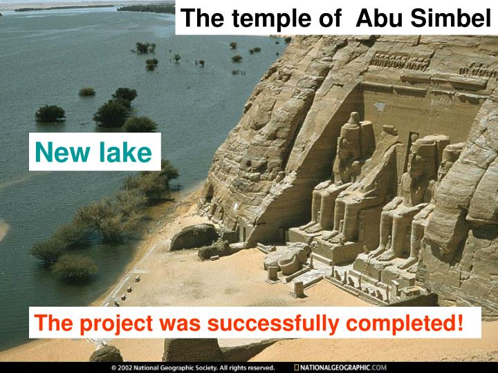 The temple of  Abu Simbel